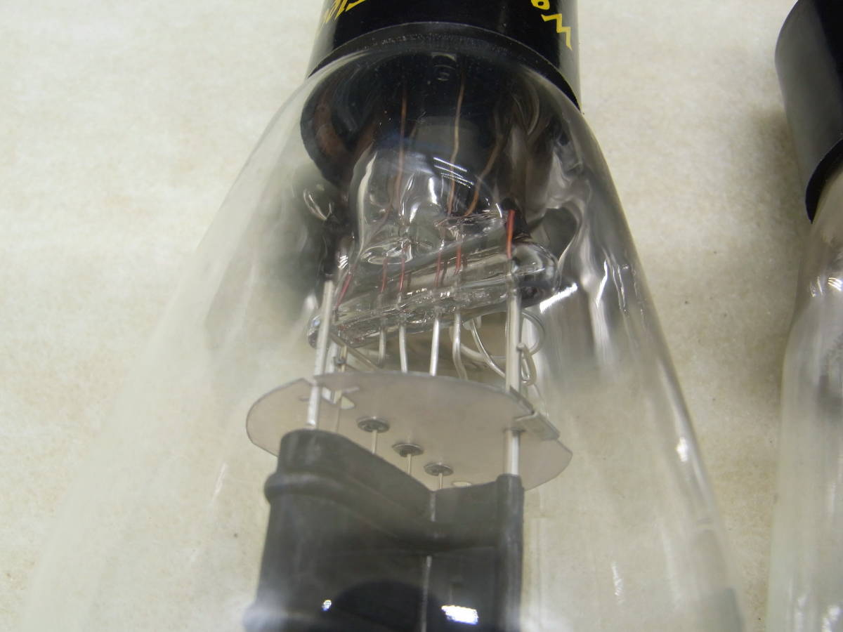 ♪♪古い真空管 Western Electric/ウェスタン・エレクトリック 300-B 2本セット ジャンク♪♪_画像8