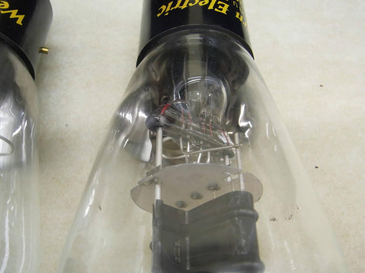 ♪♪古い真空管 Western Electric/ウェスタン・エレクトリック 300-B 2本セット ジャンク♪♪_画像9