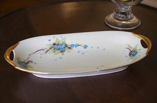 Bar Burr Abavari Porcelain Celery Dish