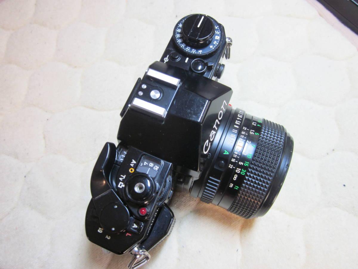 ジャンク品、Canon キヤノン A-1 、NFD 50mm F1.4_画像2