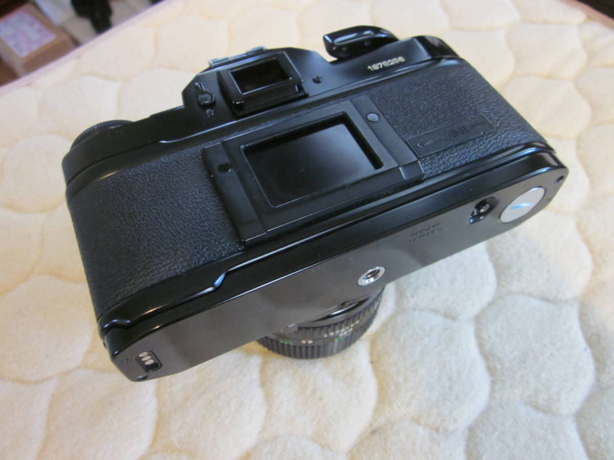 ジャンク品、Canon キヤノン A-1 、NFD 50mm F1.4_画像4
