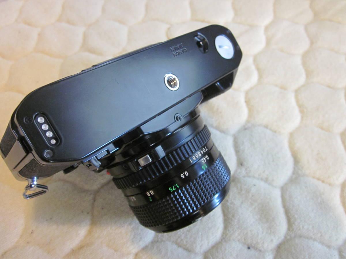 ジャンク品、Canon キヤノン A-1 、NFD 50mm F1.4_画像5