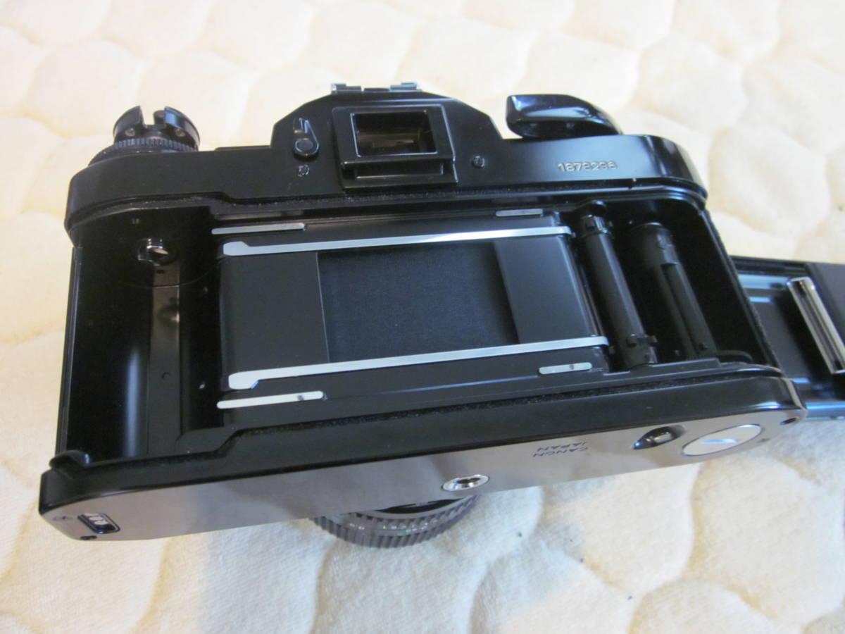 ジャンク品、Canon キヤノン A-1 、NFD 50mm F1.4_画像7