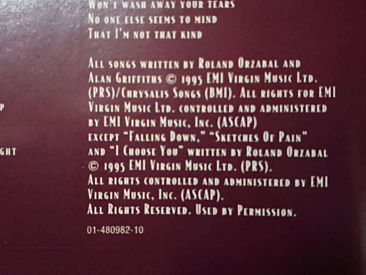 美品! 1995年 EUオリジナルCD ティアーズ・フォー・フィアーズ Tears For Fears「Raoul And The Kings Of Spain」(Epic)試聴確認済_画像8