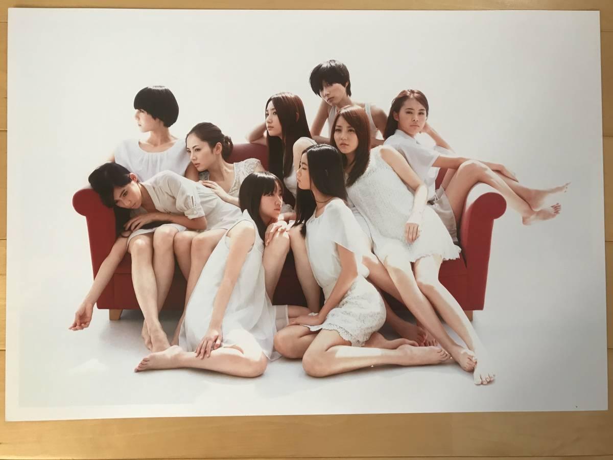 超入手困難 世界初出品【シャネルCHANELネクサスホールNEXUS HALL presents NAOKI 「MOOD-9 GIRLS」オリジナルプリント全10枚揃】2012年_画像1