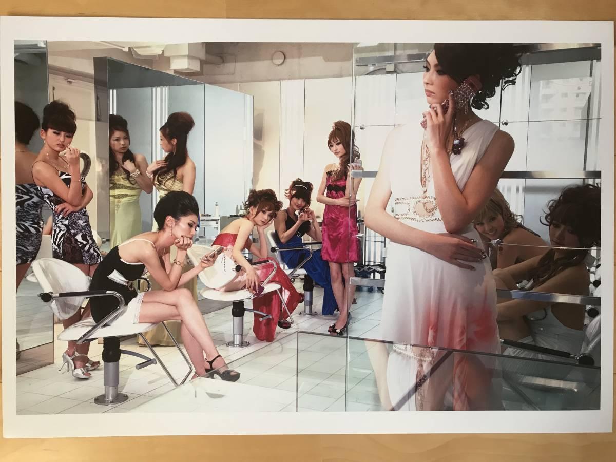 超入手困難 世界初出品【シャネルCHANELネクサスホールNEXUS HALL presents NAOKI 「MOOD-9 GIRLS」オリジナルプリント全10枚揃】2012年_画像3