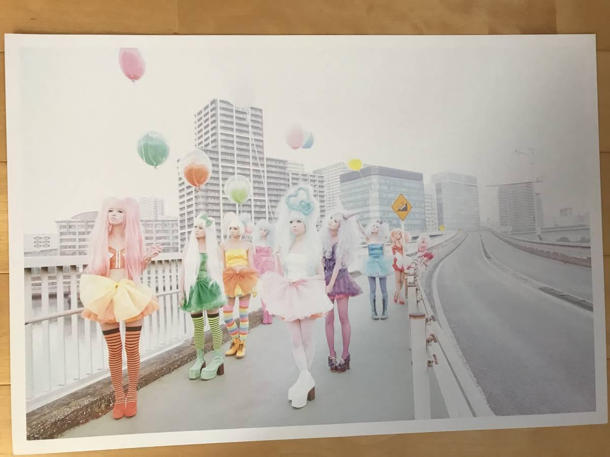 超入手困難 世界初出品【シャネルCHANELネクサスホールNEXUS HALL presents NAOKI 「MOOD-9 GIRLS」オリジナルプリント全10枚揃】2012年_画像4