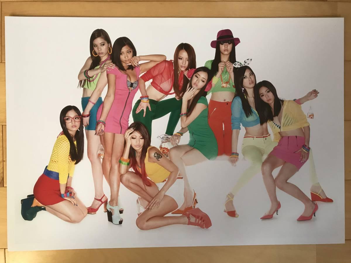超入手困難 世界初出品【シャネルCHANELネクサスホールNEXUS HALL presents NAOKI 「MOOD-9 GIRLS」オリジナルプリント全10枚揃】2012年_画像5