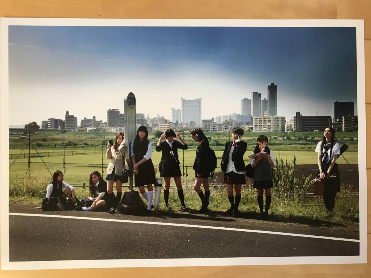 超入手困難 世界初出品【シャネルCHANELネクサスホールNEXUS HALL presents NAOKI 「MOOD-9 GIRLS」オリジナルプリント全10枚揃】2012年_画像7