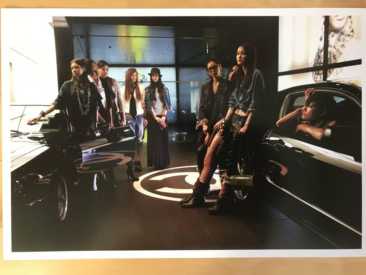 超入手困難 世界初出品【シャネルCHANELネクサスホールNEXUS HALL presents NAOKI 「MOOD-9 GIRLS」オリジナルプリント全10枚揃】2012年_画像8