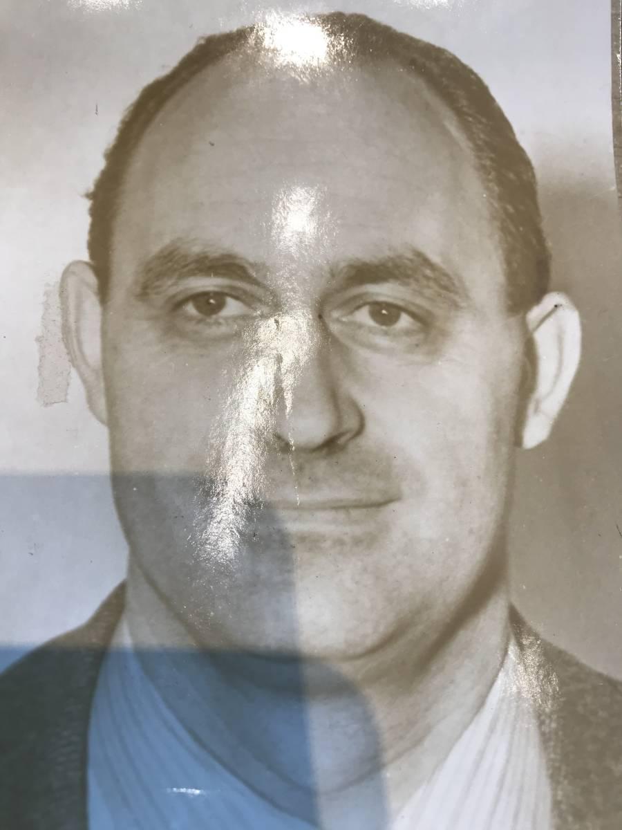 超入手困難 世界初出品【エンリコ・フェルミ肖像写真】1945/8/10リリース 世界で1枚しかない ノーベル物理学賞 マンハッタン計画 原爆_光加減で影が出来ております