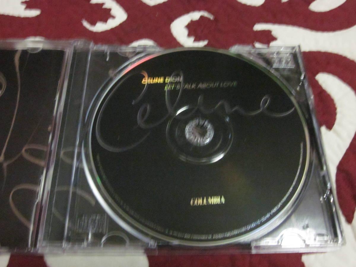 Celine Dion~セリーヌ・ディオン「LET'S TALK ABOUT LOVE」中古CD