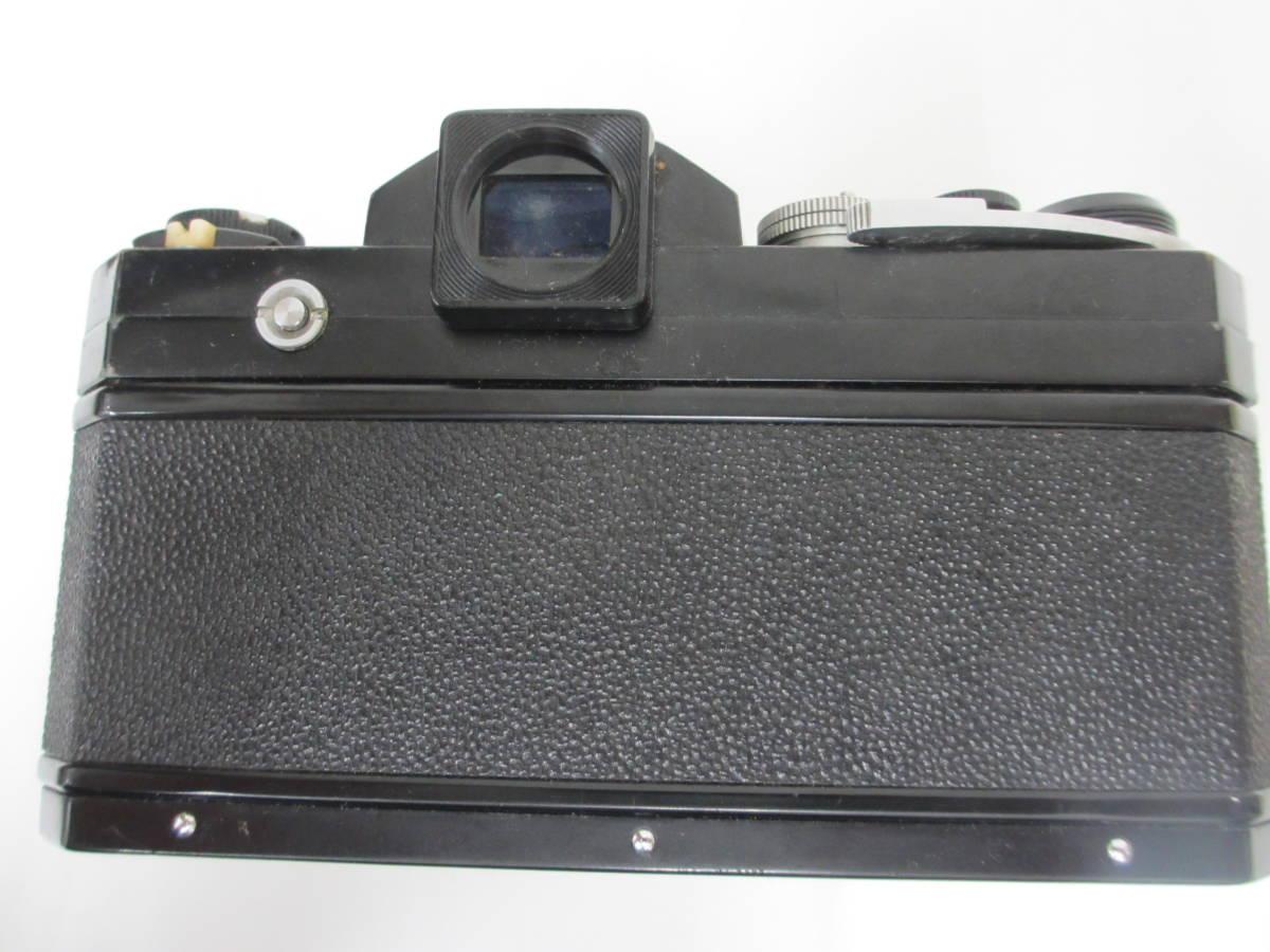 NIKON ニコン F ブラック 7265563 カメラ 1:1.2 f=55mmレンズ付 中古_画像6