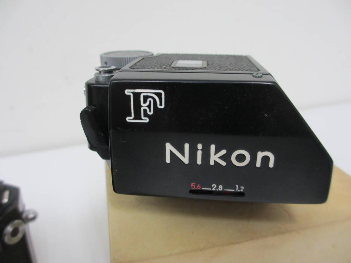 NIKON ニコン F ブラック 7265563 カメラ 1:1.2 f=55mmレンズ付 中古_画像8