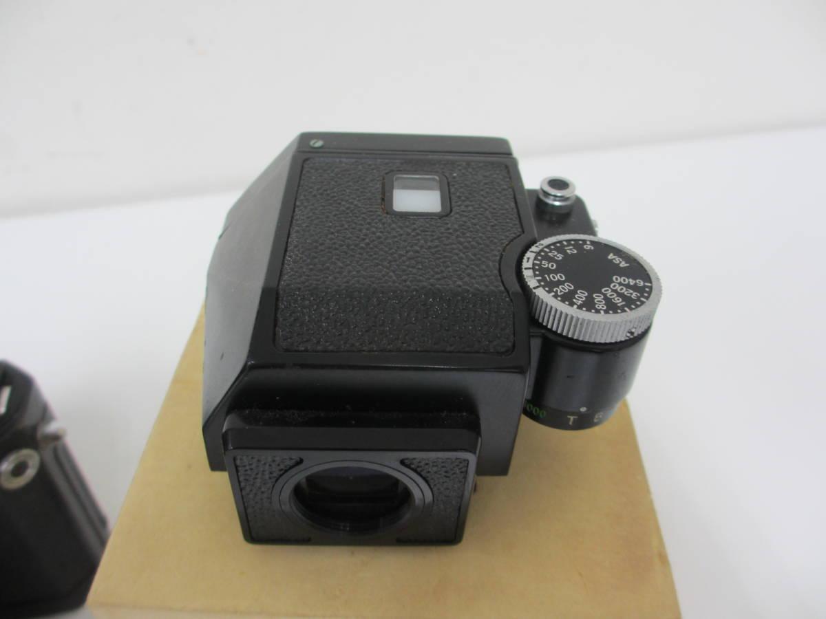 NIKON ニコン F ブラック 7265563 カメラ 1:1.2 f=55mmレンズ付 中古_画像9