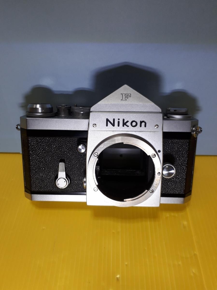Nikon ニコン F アイレベル シルバージャンク_画像2
