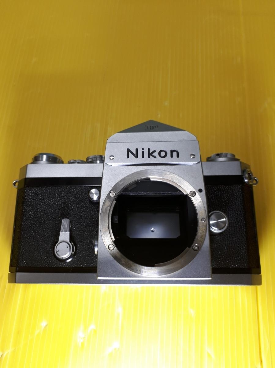 Nikon ニコン F アイレベル シルバージャンク_画像3