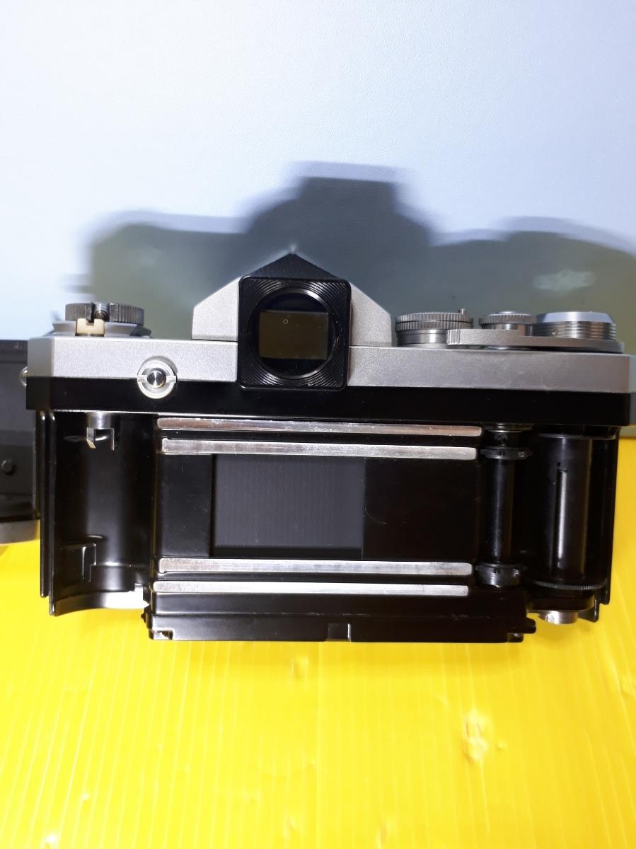 Nikon ニコン F アイレベル シルバージャンク_画像6