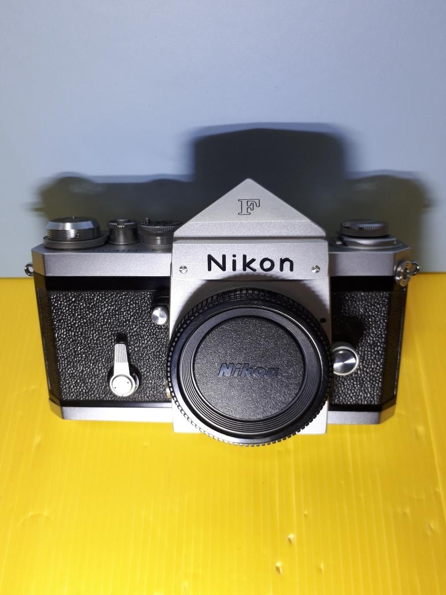 Nikon ニコン F アイレベル シルバージャンク