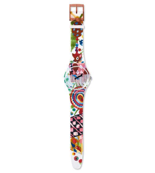 スウォッチ・SWATCH・PIOLIN'S TIME・SUOZ240S ・アーティストスペシャル・世界中限定販売2,626セット・貴重作品・新品!!!!!!_画像4