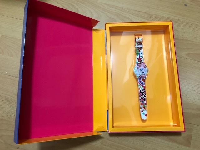 スウォッチ・SWATCH・PIOLIN'S TIME・SUOZ240S ・アーティストスペシャル・世界中限定販売2,626セット・貴重作品・新品!!!!!!_画像1