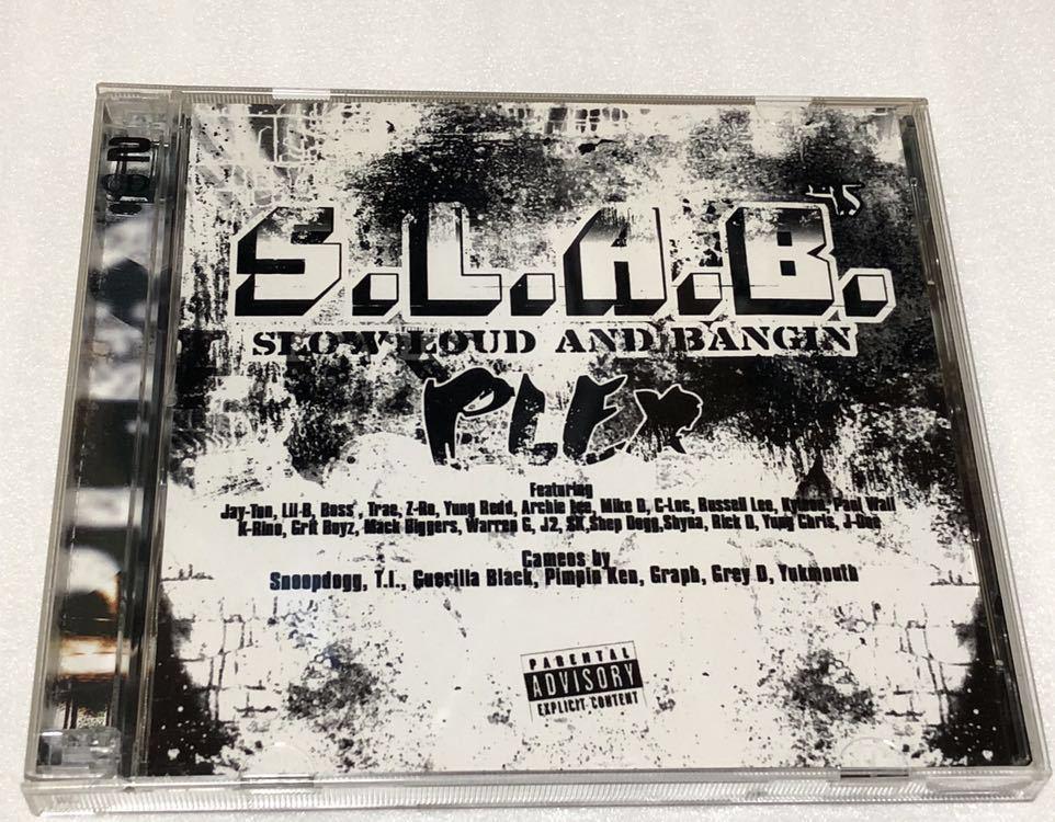 S.L.A.B. SLOW LOUD AND BANGIN PLEX テキサス Z-RO TRAE 2枚組