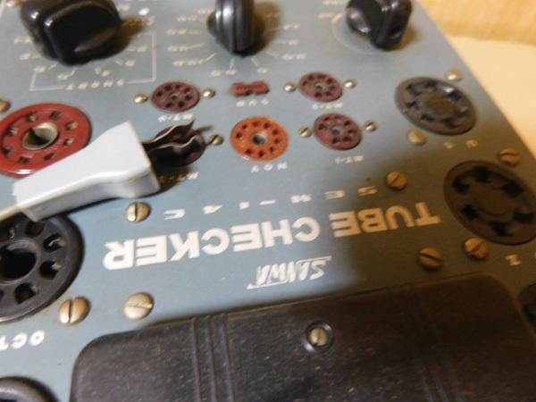107 SANWA TUBE CHECKER SEM-14C 真空管試験機 ジャンク_画像2