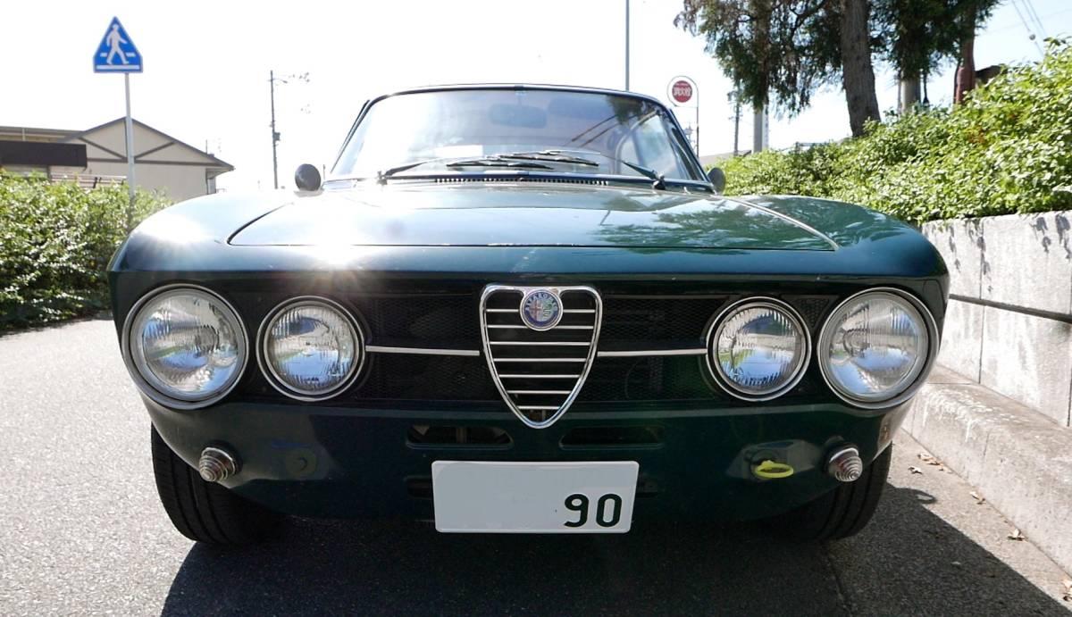上物!絶好調!即乗り出しOK! アルファロメオ 1750GT Veloce クーラー付き! ジュリア 1969年式 車検満タン!