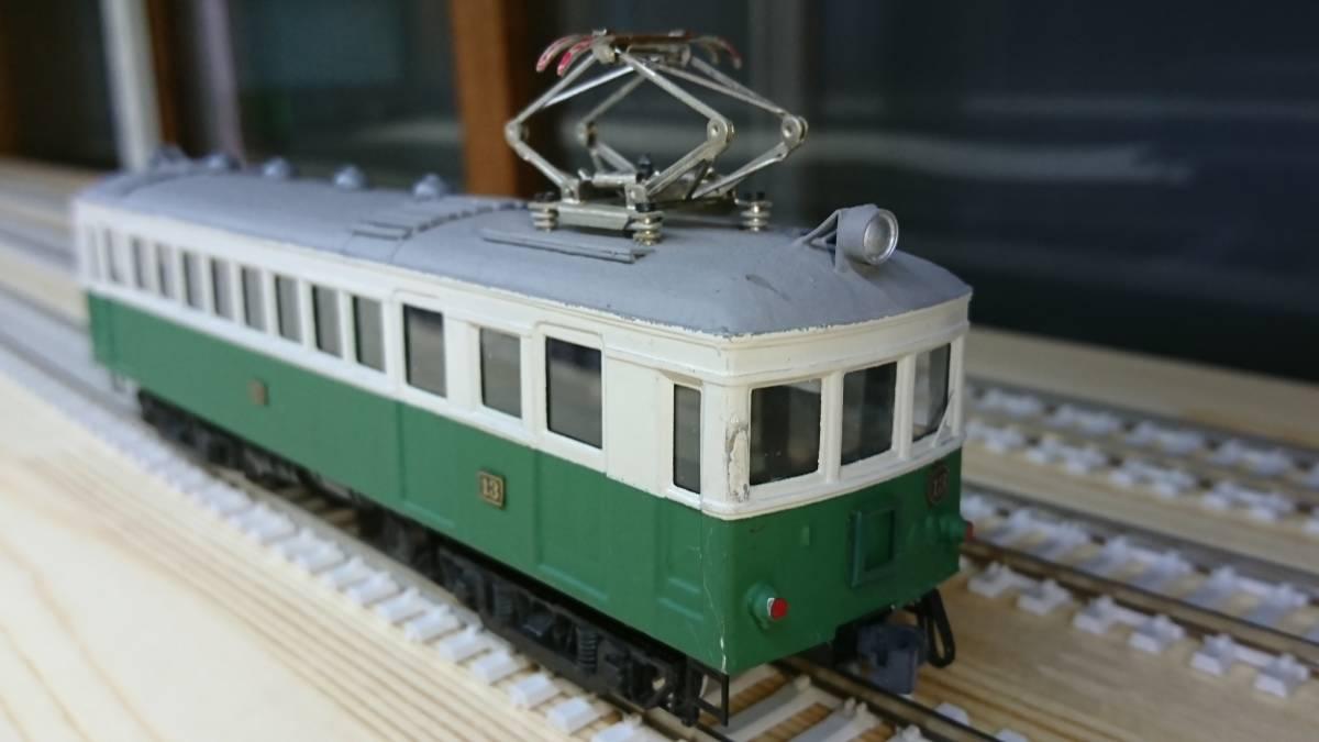 京福 16型 私鉄 自由形 16番 HO