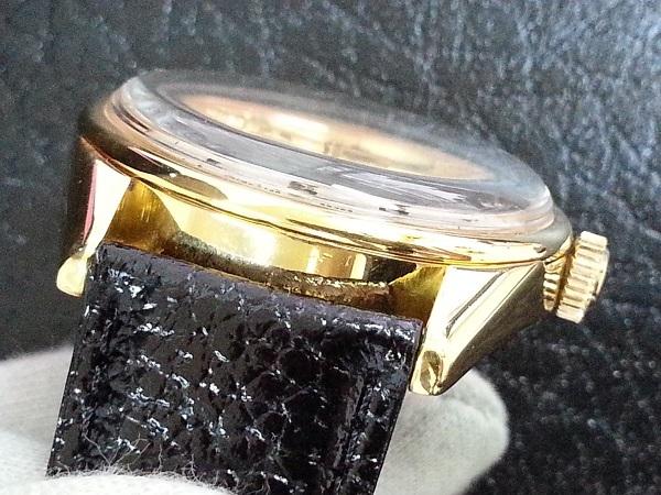 大野時計店 セイコー ロードマーベル 5740-8000 手巻 1973年5月製造 36000ビート 金色 アラビア数字 希少_画像4