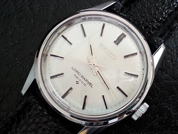 大野時計店 セイコー ロードマーベル 5740-8000 手巻 1967年9月製造 36000ビート 希少_画像1