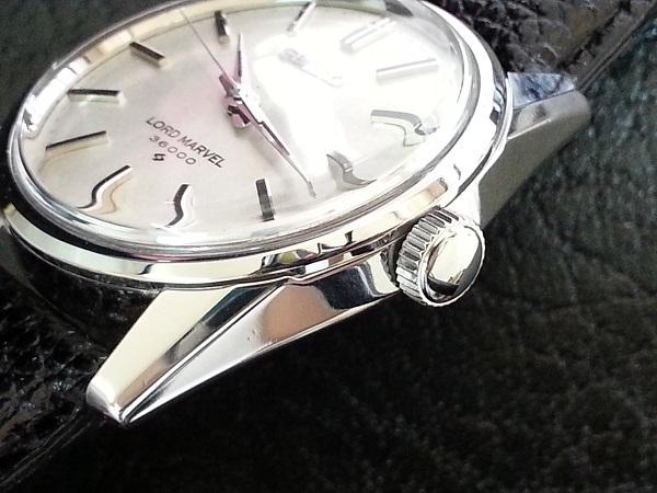 大野時計店 セイコー ロードマーベル 5740-8000 手巻 1967年9月製造 36000ビート 希少_画像2