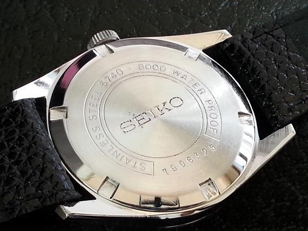 大野時計店 セイコー ロードマーベル 5740-8000 手巻 1967年9月製造 36000ビート 希少_画像5
