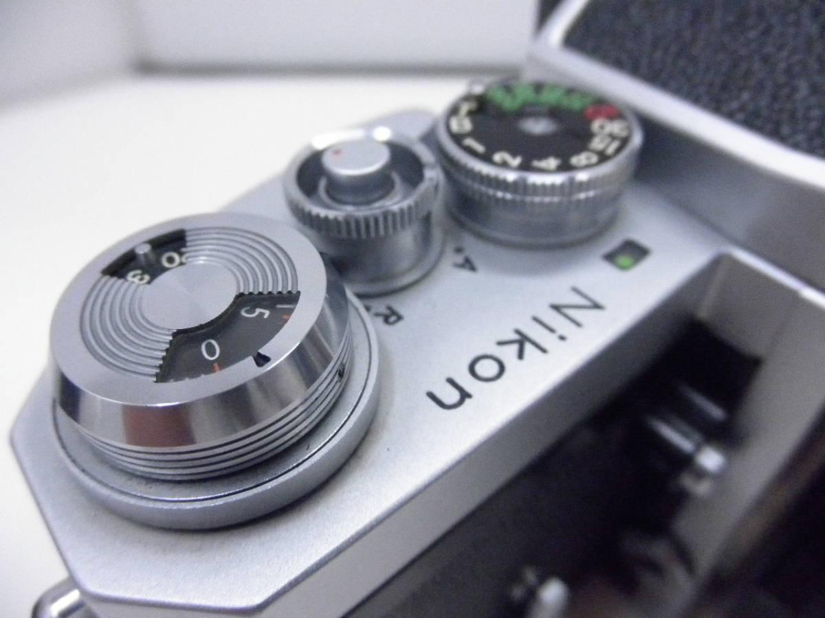 Nikon F レンズ NIKKOR-H Auto 1:2 f=50mm_画像6