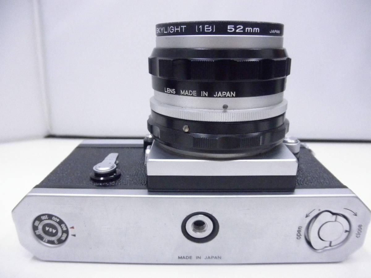 Nikon F レンズ NIKKOR-H Auto 1:2 f=50mm_画像8