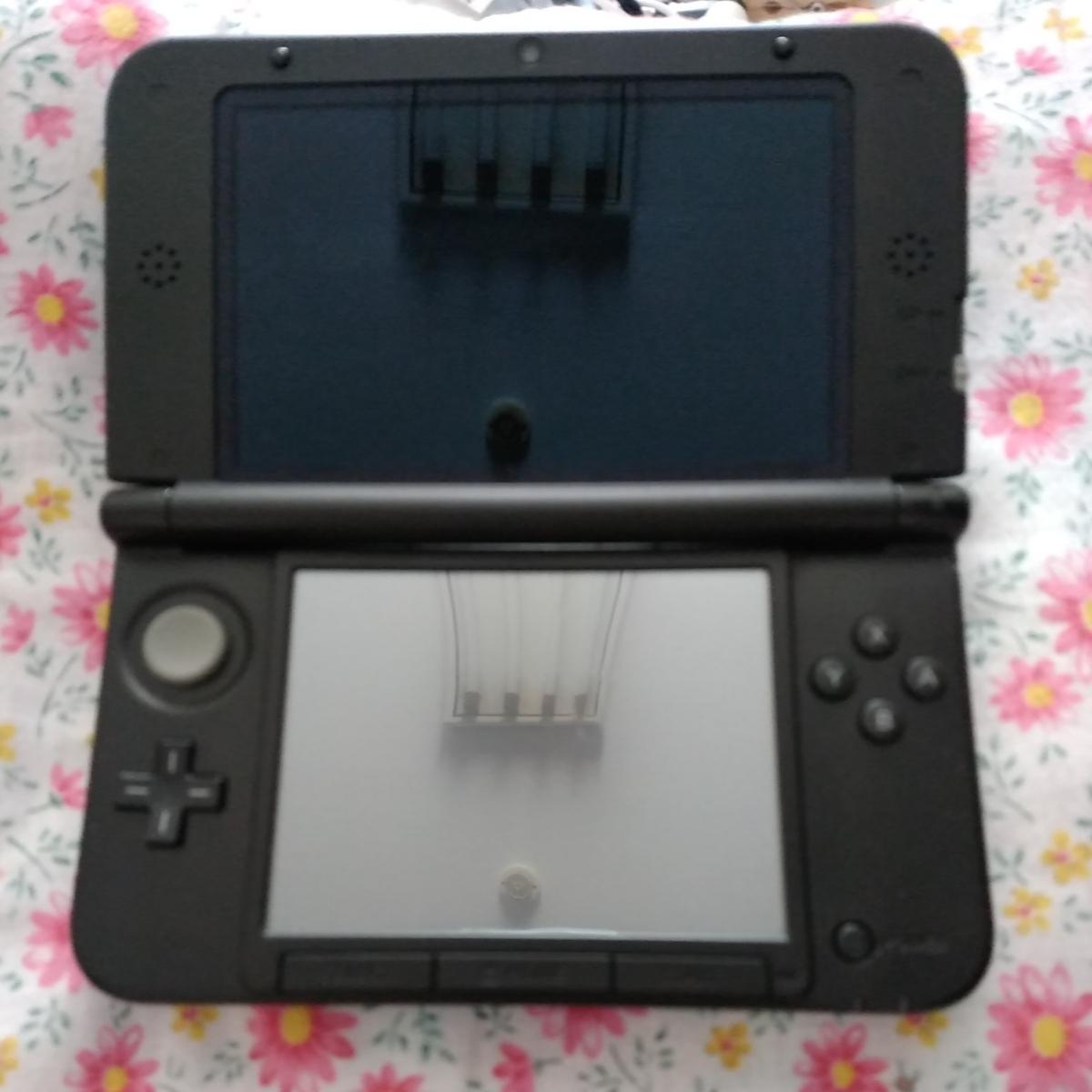 任天堂 3DSLL 本体 アダプター付き ブルー_画像3