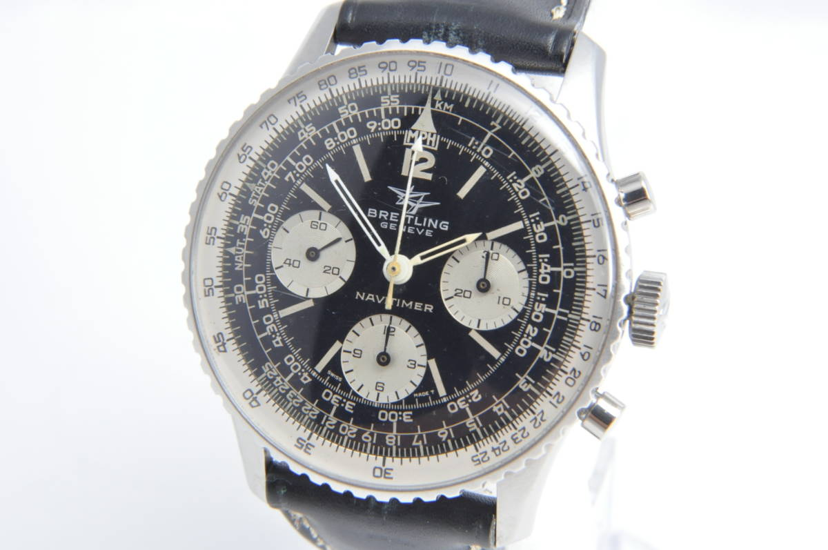 #2346 BRITLING NAVITIMER 806 ブライトリング ナビタイマー ヴィーナス178 アンティーク腕時計 手巻き クロノグラフ 第3世代