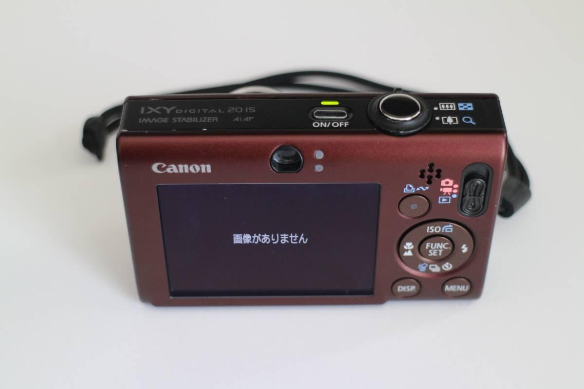 ★☆【送料込み】 CANON IXY 20IS ケース付き☆★_画像4