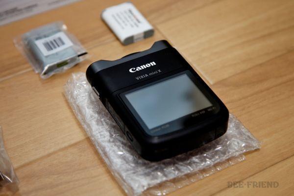 【保証1ヶ月】Canon VIXIA mini X(iVIS mini Xグローバルモデル) [138]