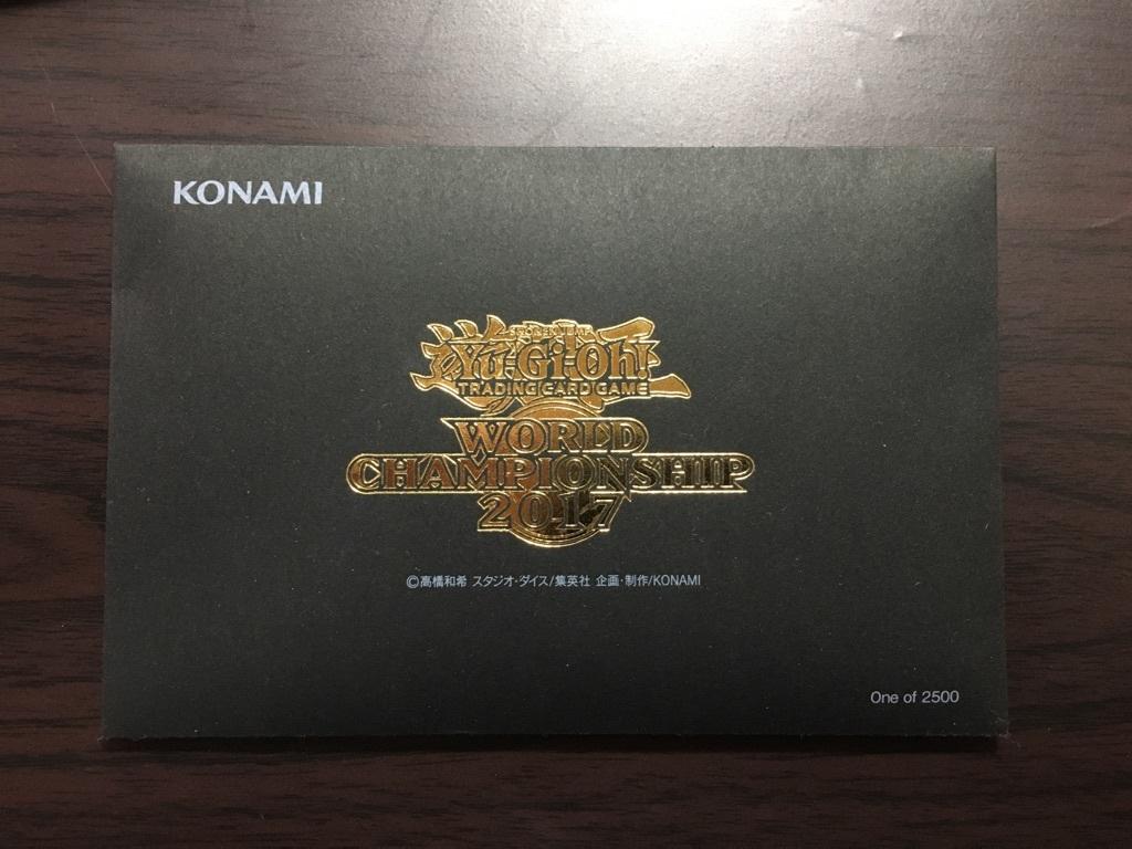 【未開封】遊戯王 WCS2017世界大会入場者限定配布カード