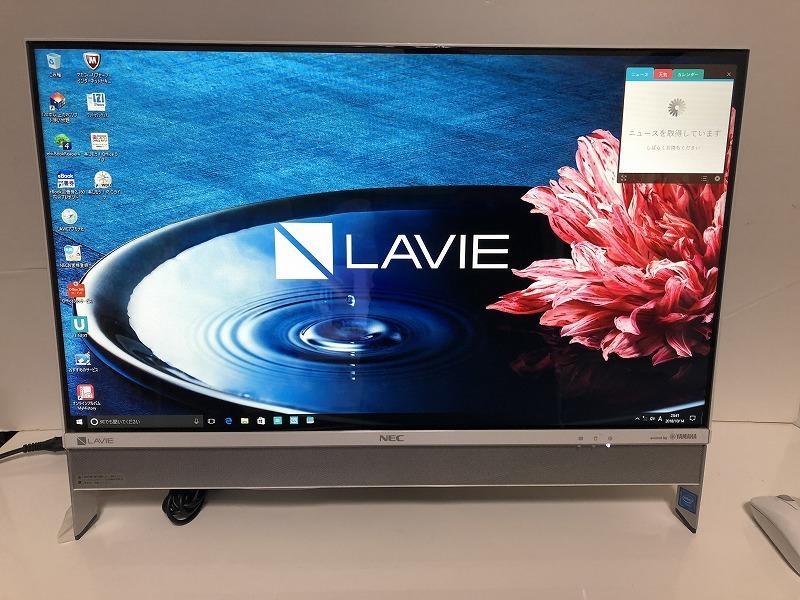 【展示品未使用】LAVIE Desk All-in-one DA370/EAW PC-DA370EAW [ファインホワイト]