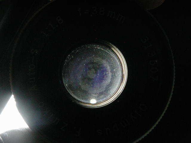 OLYMPUS PEN FT + ZUIKO AUTO 38mm F1.8 動作品    (( オリンパス ペン ズイコー オート 38ミリ_画像4