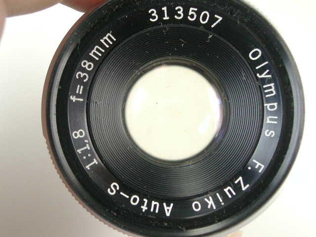 OLYMPUS PEN FT + ZUIKO AUTO 38mm F1.8 動作品    (( オリンパス ペン ズイコー オート 38ミリ_画像3