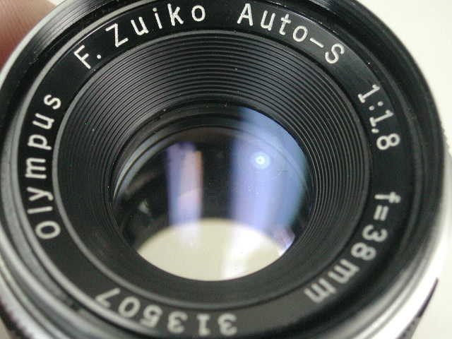 OLYMPUS PEN FT + ZUIKO AUTO 38mm F1.8 動作品    (( オリンパス ペン ズイコー オート 38ミリ_画像5