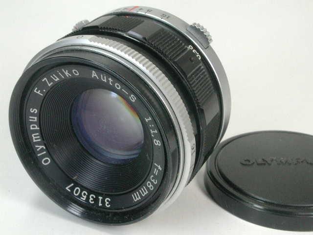OLYMPUS PEN FT + ZUIKO AUTO 38mm F1.8 動作品    (( オリンパス ペン ズイコー オート 38ミリ_画像2