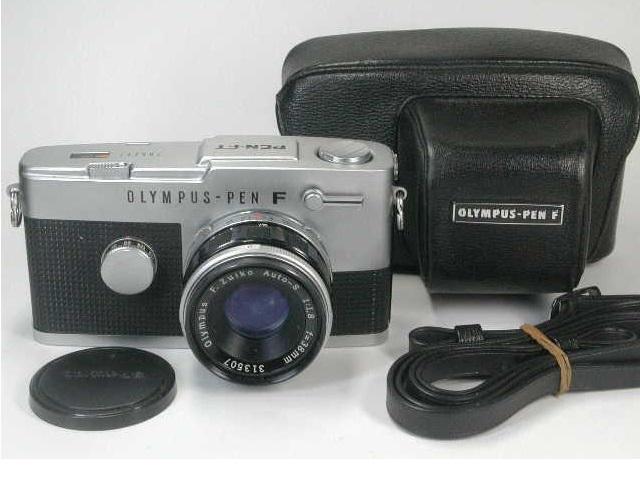 OLYMPUS PEN FT + ZUIKO AUTO 38mm F1.8 動作品    (( オリンパス ペン ズイコー オート 38ミリ