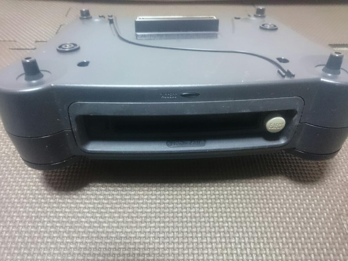 任天堂 NINTENDO 64DD NUS-010 ディスクドライブ 説明文