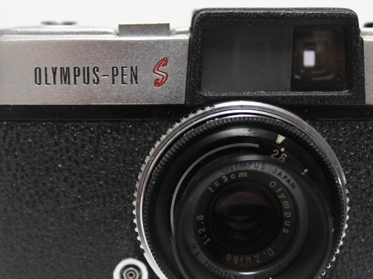 【1円出品】OLYMPUS オリンパス OLYMPUS-PEN S レンズD.Zuiko 1:2.8 f=3cm 一眼レフ 308350 ジャンク品※動作未確認_画像3