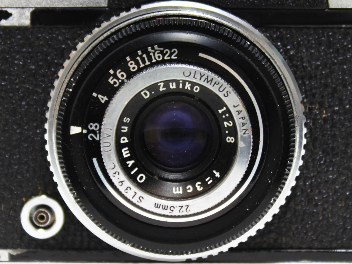 【1円出品】OLYMPUS オリンパス OLYMPUS-PEN S レンズD.Zuiko 1:2.8 f=3cm 一眼レフ 261471 ジャンク品 ※動作未確認_画像8