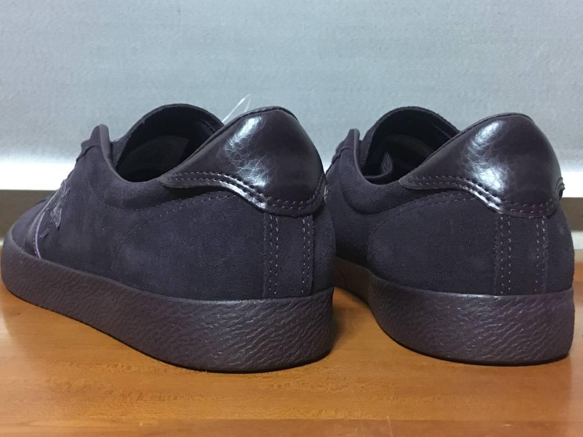 新品 Converse Breakpoint Mono Suede OX 29cm Black Cherry コンバース ブレークポイント スニーカー スエード パープル 153989C CO24 _画像3